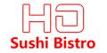 Ho Sushi Bistro Menu