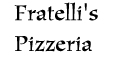 Fratelli's Pizzeria menu and coupons