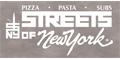 Streets of New York Menu