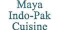 Maya Indo-Pak Cuisine Menu