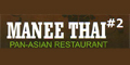 Manee Thai #2 menu and coupons