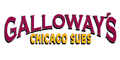 Galloway's Chicago Subs Menu