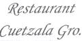 Restaurant Cuetzala Menu
