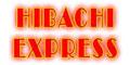 Hibachi Express Menu