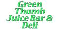 Green Thumb Juice Bar & Deli Menu