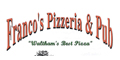 Franco's Pizzeria & Pub menu and coupons
