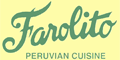 Farolito Peruvian Restaurant Menu