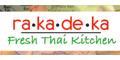 Rakadeka Fresh Thai Kitchen Menu