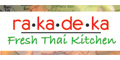 Rakadeka Fresh Thai Kitchen menu and coupons