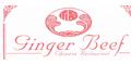 Ginger Beef  Menu