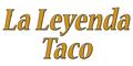 La Leyenda Taco Menu