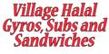 Village Halal Gyros, Subs and Sandwiches Menu