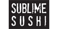 Sublime Sushi menu and coupons