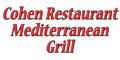 Cohen Restaurant Mediterranean Grill Menu