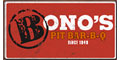 Bono's BBQ menu and coupons