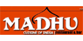 Madhu Cuisine of India menu and coupons