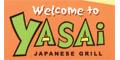 Yasai Japanese Grill Menu