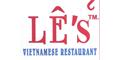Le's Vietnamese Cuisine Menu