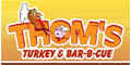 Thom's Turkey & Bar-B-Cue menu and coupons