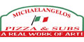 Michaelangelo's Pizza menu and coupons