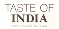 Taste of India menu and coupons
