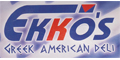 Ekko's Greek American menu and coupons