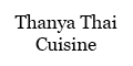 Thanya Thai Cuisine Menu
