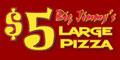 Big Jimmy's Pizza Menu