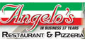 Angelo's Pizza Menu