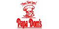 Papa Dom's Pizza Menu
