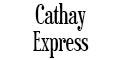 Cathay Express Menu
