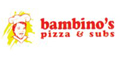 Bambinos Pizza and Subs Menu