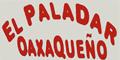 El Paladar Oaxaqueno Menu