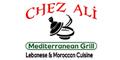 Chez Ali Mediterranean Grill Menu