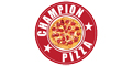 Champion Pizza Menu