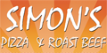 Simon's Roast Beef & Pizza Menu