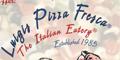 Luigi's Pizza Fresca Menu