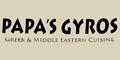 Great Papa's Gyros Menu