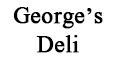 George's Deli Menu