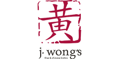 J Wong's Asian Bistro Menu