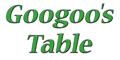Googoo's Table Menu
