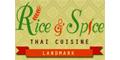 Rice and Spice Thai Cuisine Menu
