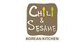 Chili & Sesame Menu