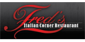 Fred's Italian Corner Restaurant menu and coupons