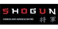 Shogun Japanese & Chinese Bistro Menu