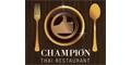 Champion Thai Restaurant Menu