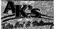 AK's Takeout & Delivery Menu