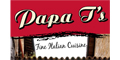Papa T's Pizza menu and coupons